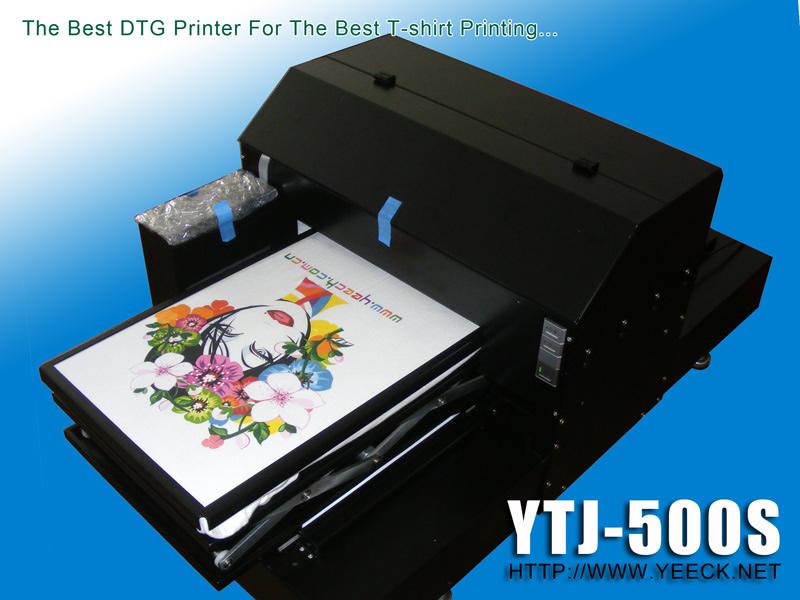 上海影格科技微喷T恤印花机比爱普生平台式专业数码印花机F2080打印品质更好的成衣T恤打印机